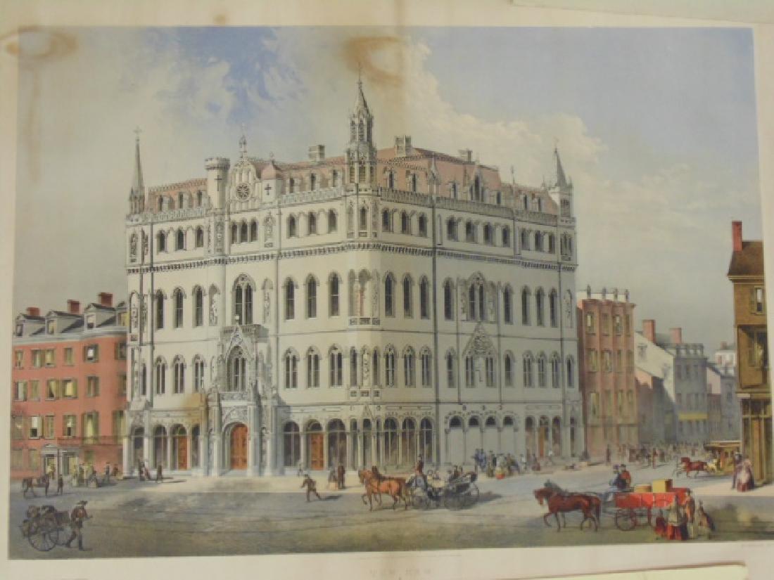 Lot lithos, photos & engravings, Columbia Expo, Capitol - 4