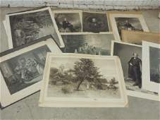 Lot engravings including various portraits Henry Clay
