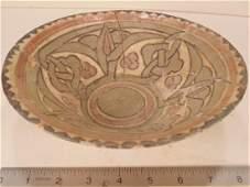 Nishapur Islamic Ceramic Bowl 9001000 AD decorated
