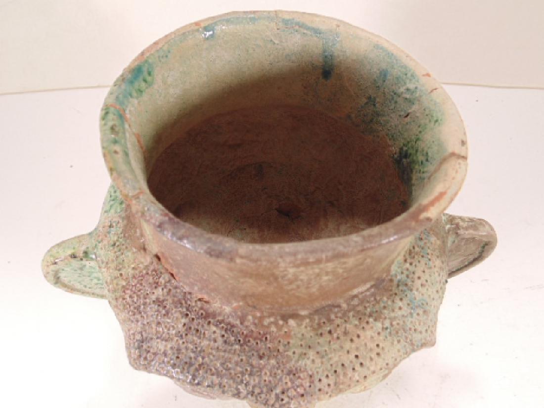 Ceramic Islamic Figural Jug, Ceramic vessel is shaped - 5