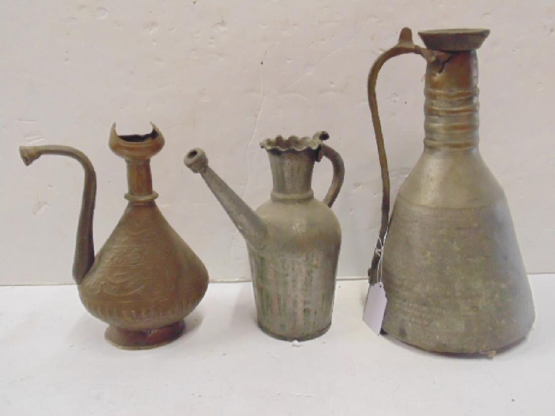 Persian water pitcher lot, lot includes large water