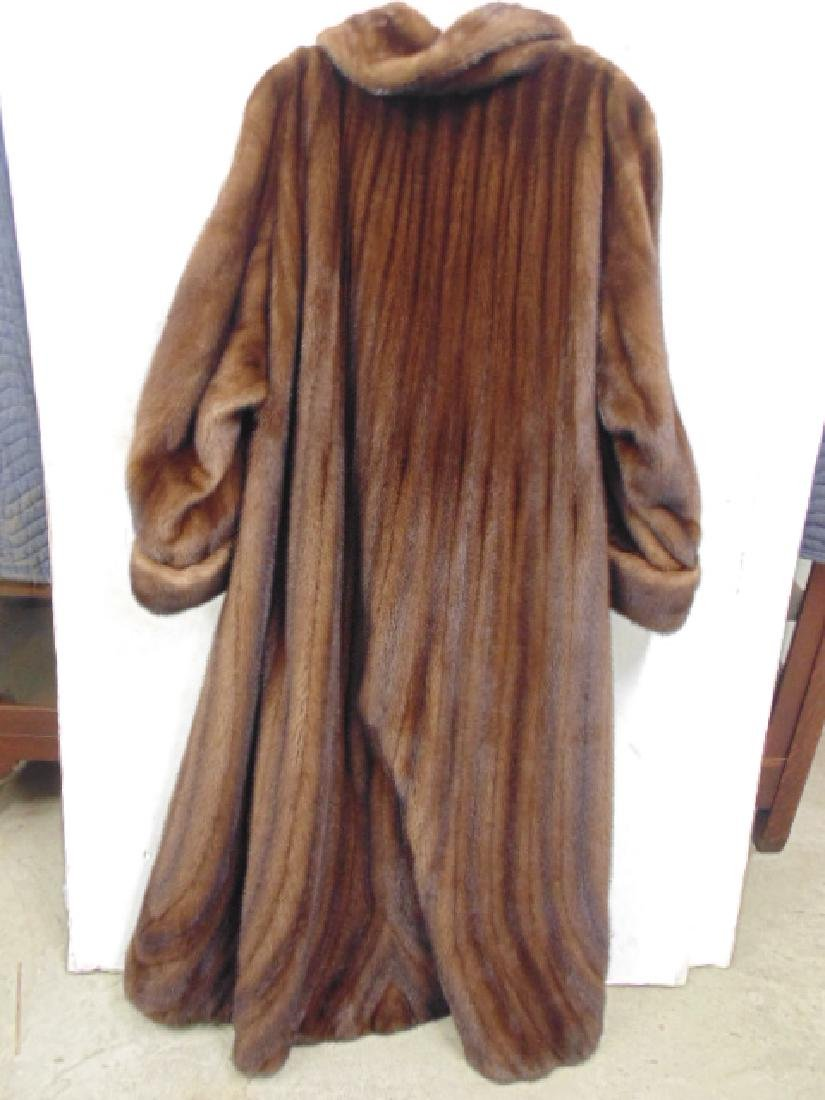 Neiman Marcus long mink coat size 16 good condition - 5