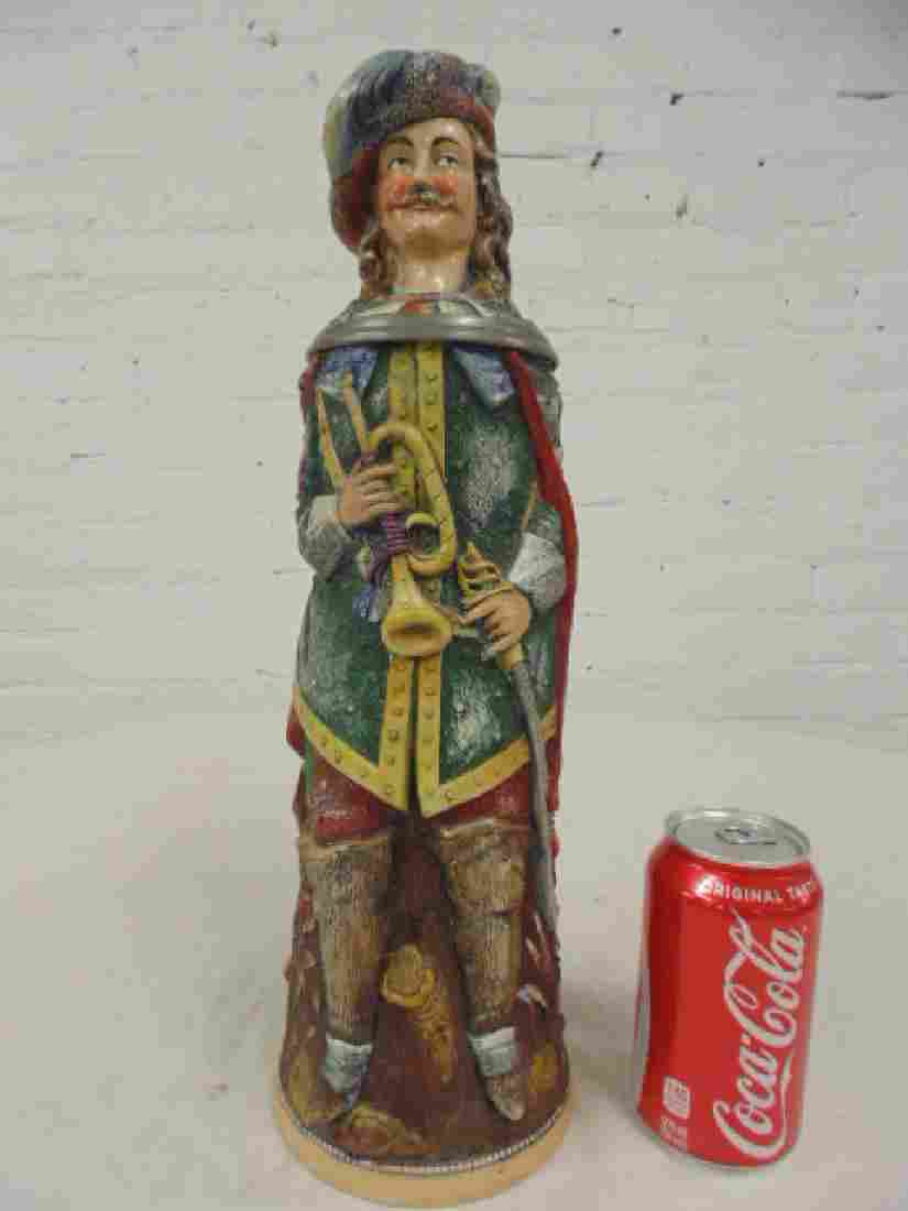 Karl Diesinger German figural character beerstein, man