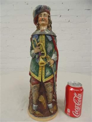 Karl Diesinger German figural character beerstein man