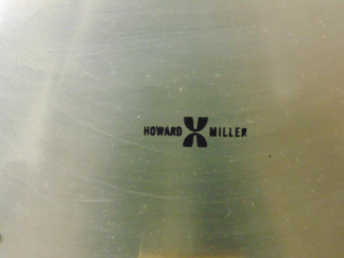 Howard Miller mid Century wall clock, model 557, - 3