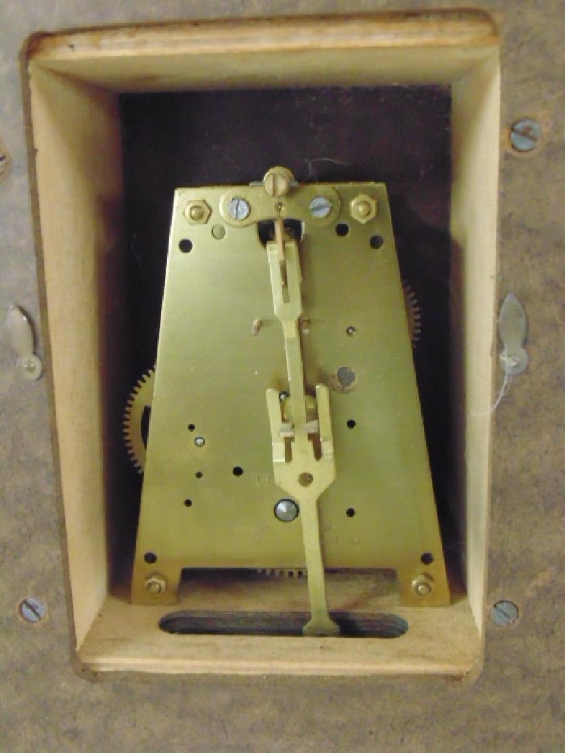 Howard Miller mid Century wall clock, model 557, - 4