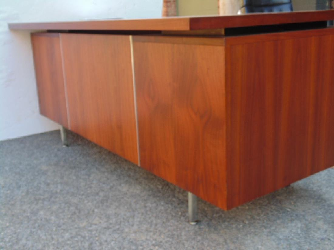 George Nelson, Herman Miller desk, double pedestal with - 10