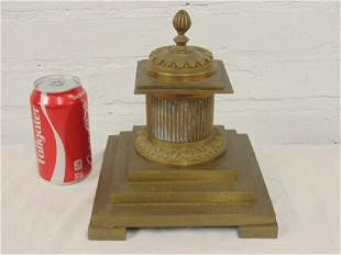 Bronze inkwell French Empire