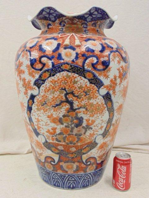 Large Japanese Imari palace vase, 19th Century
