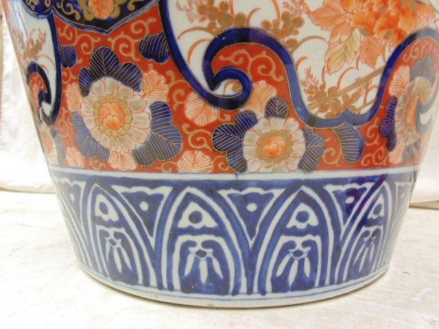 Large Japanese Imari palace vase, 19th Century - 9
