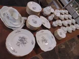 Set porcelain Sanssouci dinnerware by Rosenthal early