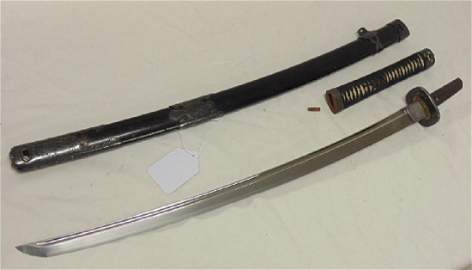 Japanese sword, Bichu Osafune Sukesade, Eisho Period,