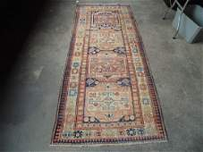 Caucasian carpet 455 by 108 in good condition