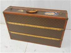 Louis Vuitton steamer trunk, vintage Vuitton trunk in