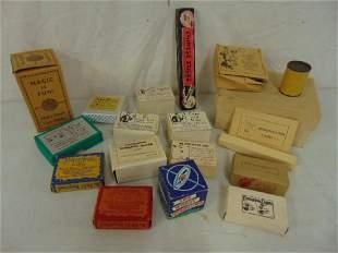 Lot vintage magic tricks games in original boxes
