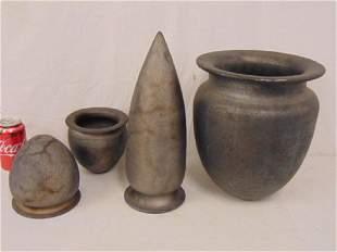 Lot Munro art pottery pair vases amphora vase large