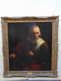 "Painting, ""Philosopher"", by Govaert Flinck, Dutch"