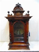 Polyphon Victorian disc music box, coin operated, with