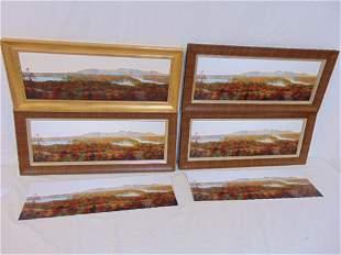 6 canvas prints Kristen Woodward fall landscapes 6