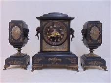 Tiffany & Co Japonica clock set, fine quality clock