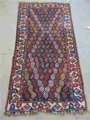 "Caucasian carpet, 81"" by 43"""