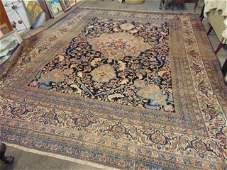 Roomsize estate carpet, center medallion, carpet is