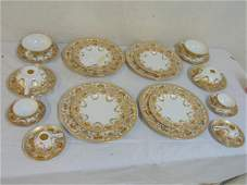 Salviati & Co. Venice porcelain dinnerware, Italy,
