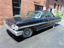 1964 Ford Galaxie 500 XL 4 door sedan, min black paint