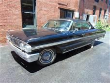 1964 Ford Galaxie 500 XL 4 door sedan, min black paint