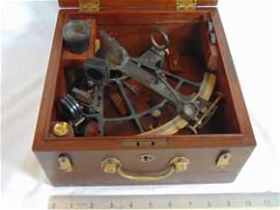 Sextant, Buff & Buff Mf. Boston, SN 13176 iron & brass,