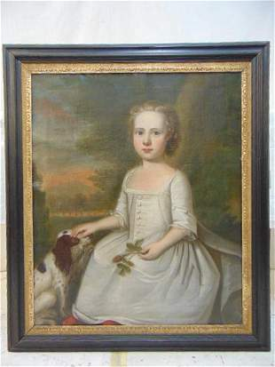 Painting, English School (early 19th century), Oil on