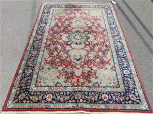 "Indo-Persian Tabriz Style Rug, 20th century. 5' x 7'7"""
