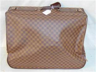 Louis Vuitton Damier folding garment luggage