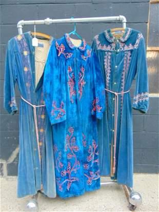 Odd Fellows, Fraternal, Masonic, Vintage robes, (3)
