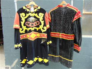 Odd Fellows, Fraternal, Masonic, Vintage robes, (2)