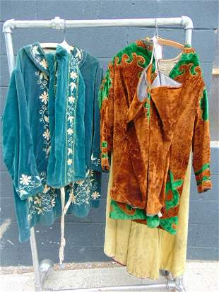 Odd Fellows, Fraternal Masonic, Vintage robes with