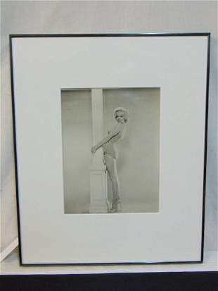 Marilyn Monroe photograph, Vintage Silver Print,