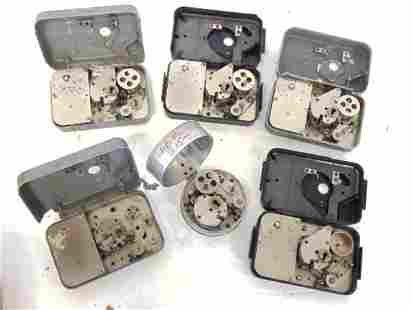 6 Watchman's post clocks, 3 IBM, 2 Benzig, 1 ITR