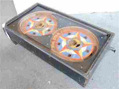5 Star Final Pinball Machine, Gottlieb, Table Top,
