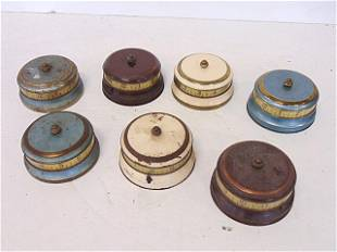 7 Lux tape measure mystery clocks