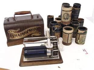 "Phonograph, Columbia "" The Graphophone"" Type Q,"