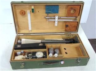 German Portable Weather Station, Meteorologischer Satz.