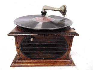 Phonograph, Portable Victrola- Plays, Unbranded- Takes