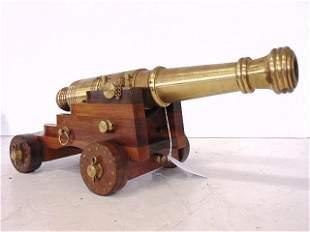 Cannon, Signal, Starting, Salute, Brass, 10 Gauge