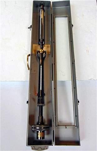 Barometer, Mercurial, Welch Fixed Cistern, US Navy BU
