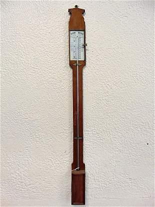 Barometer, Mercurial, Vintage, French.