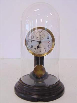 Poole Electric (Battery) Dome Clock, tested and running