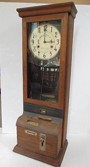 Punch Card Time Clock, Central Time Clock Co. Inc. NYC,