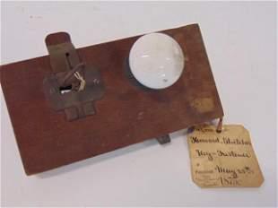U.S. Original Patent Model, May 25th 1875, Key