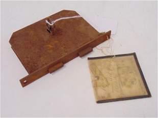 U.S. Original Patent Model, Apr 15th 1890, Locks, John